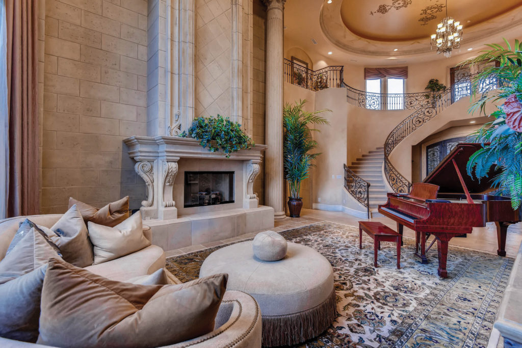 custom estate in Spanish Hills