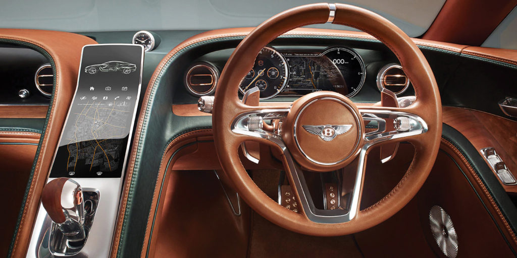 Interior dash Bentley EXP