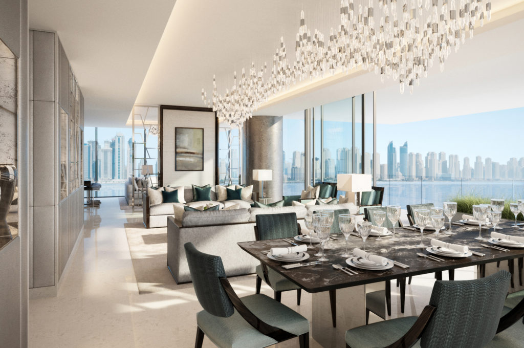 Penthouse Living In Burj Khalifa The World S Tallest Tower Dreams Magazine