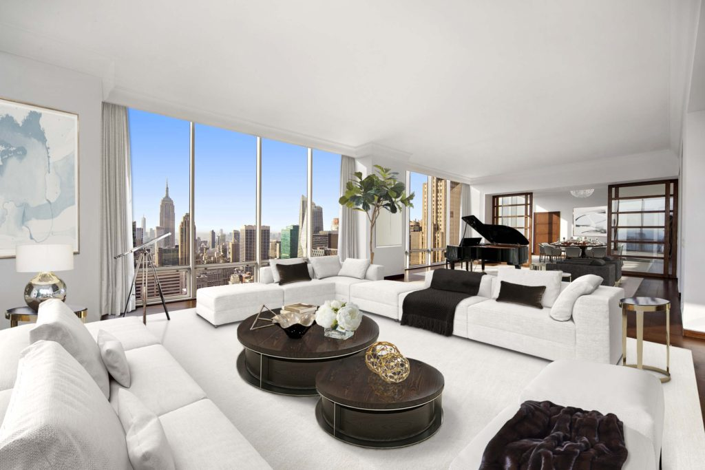 Gucci Penthouse has breathtaking views of the Rockefeller Center