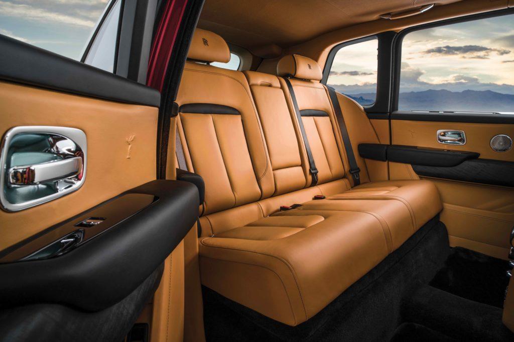 Interior Rolls-Royce Cullinan SUV