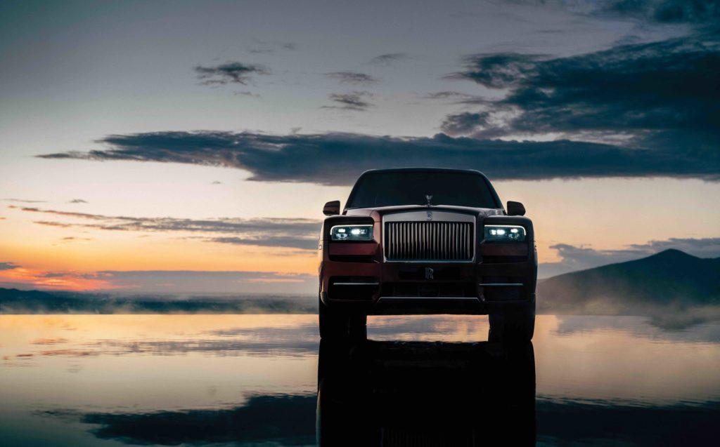exterior Rolls-Royce Cullinan