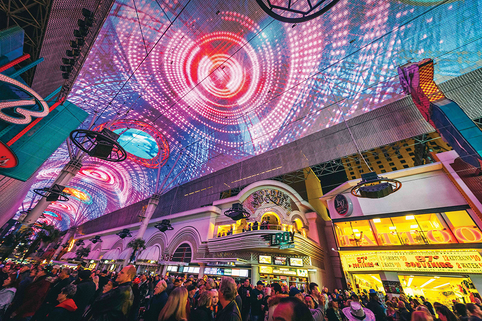 Downtown Fremont Street