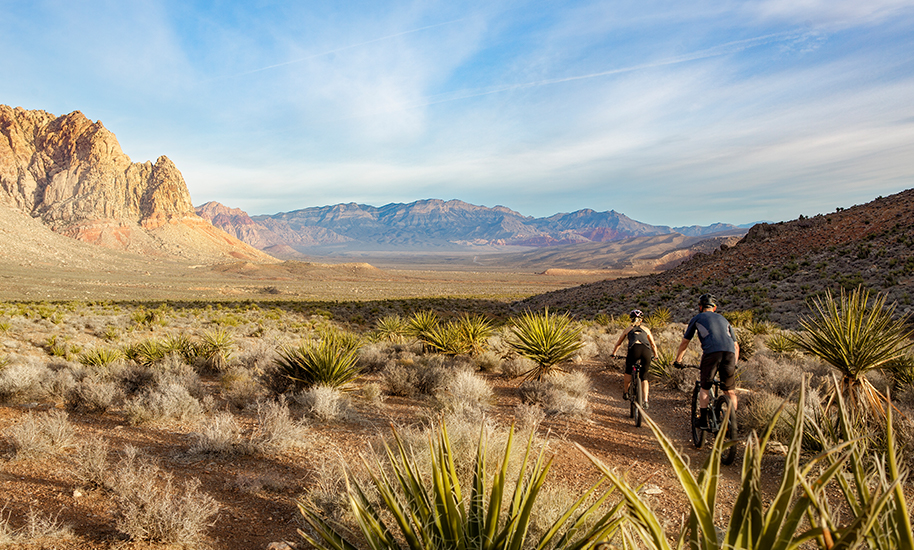 Red Rock Canyon National Conservation Area is Summerlin's hallmark landmark and its backyard playground.